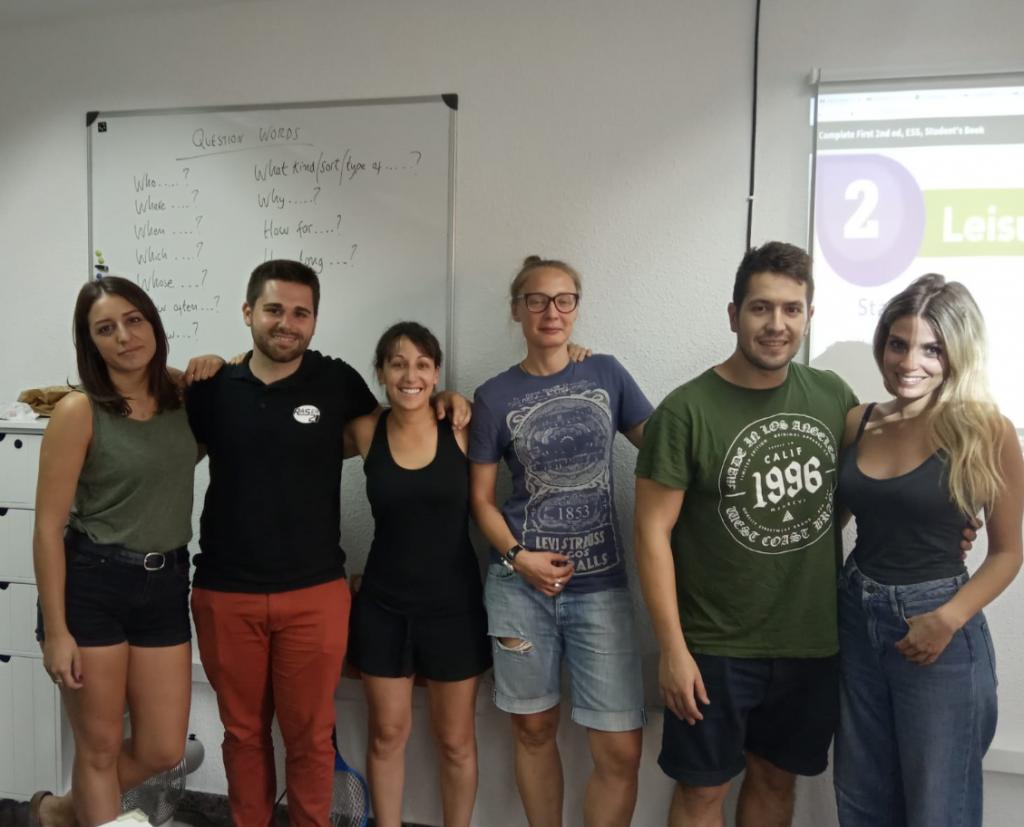 clases de inglés con un profesor nativo - verano