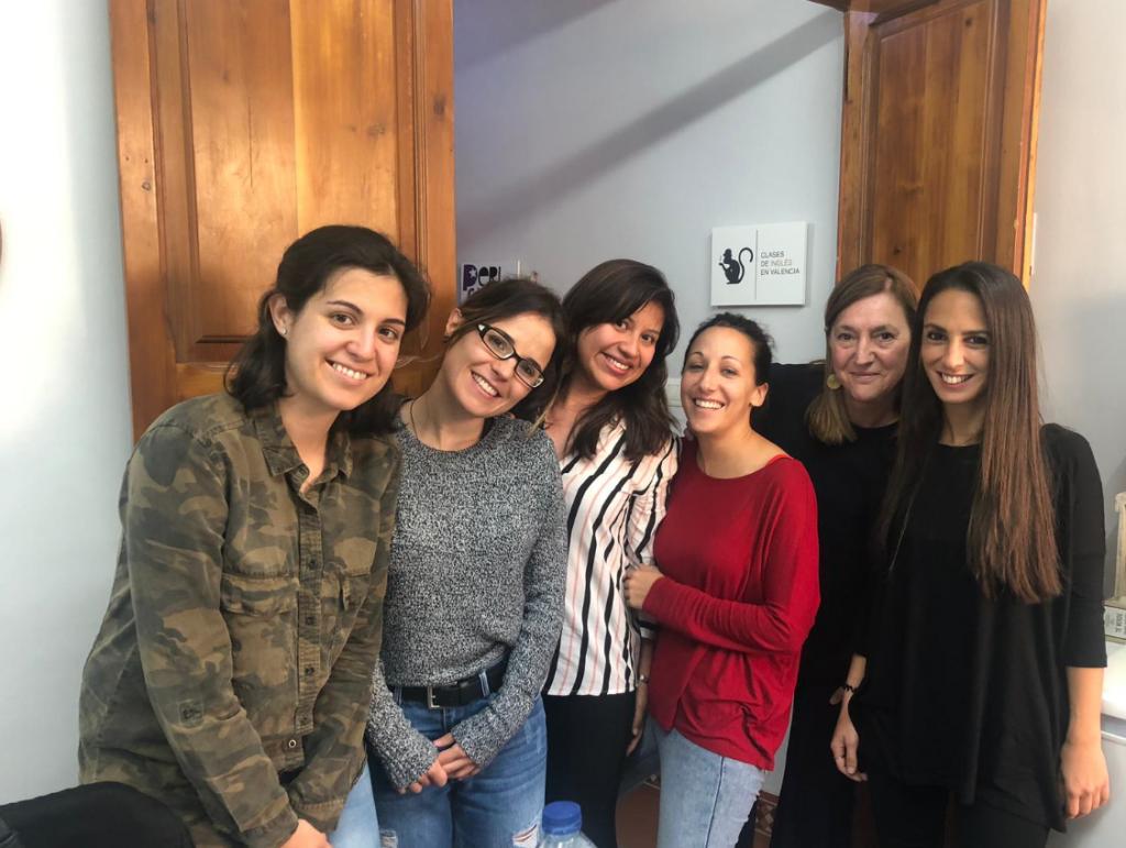 examen de cambridge en Valencia - chicas