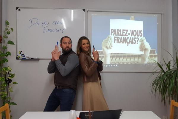 clases de frances en Valencia - compañeros