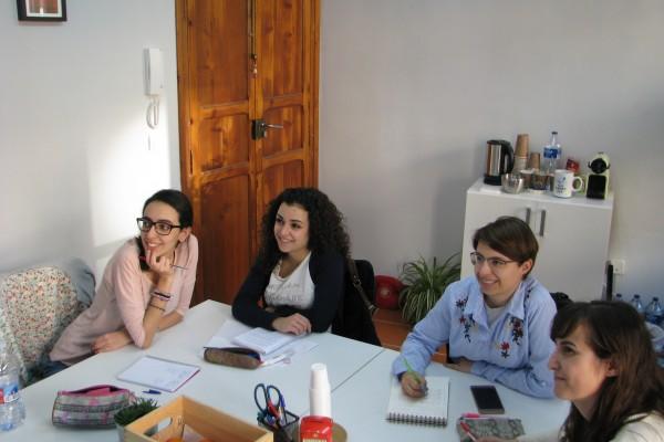 clases de inglés presenciales en Valencia - grupos