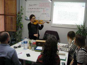 preparación para los exámenes de Cambridge en Valencia - violin