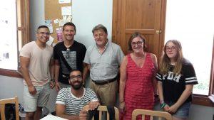 cursos intensivos de inglés en verano para adultos - clase