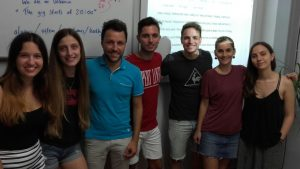 academia de inglés económica en Valencia - clase