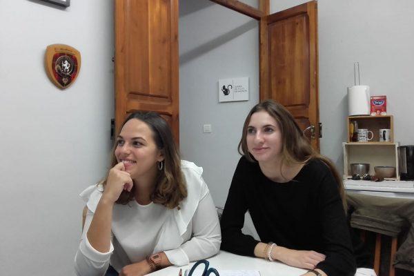 estudiar inglés en Valencia - clase de dos