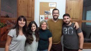 clases de francés en Valencia - cinco alumnos