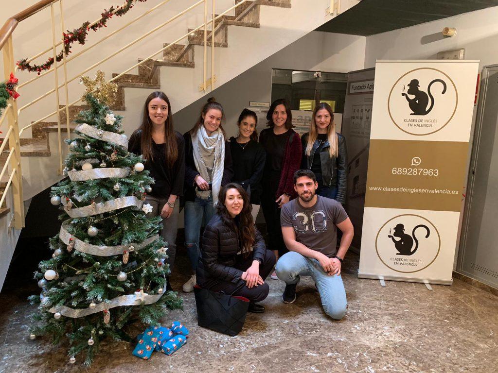 preparación de exámenes de Cambridge en Valencia - arbol de navidad