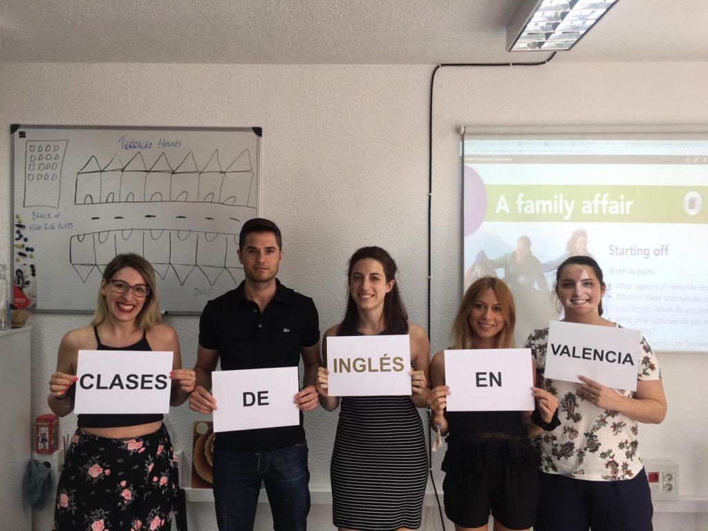 clases de inglés con un profesor nativo - carteles