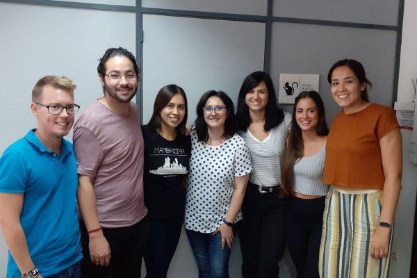 clase speaking inglés valencia - grupo
