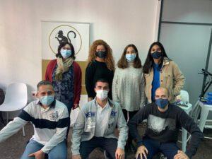 clases de inglés presenciales en Valencia - mascarilla