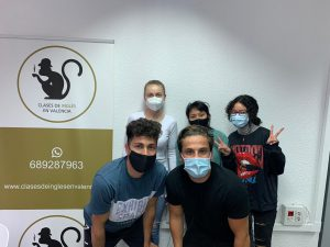 profesores nativos inglés Valencia - alumnos covid