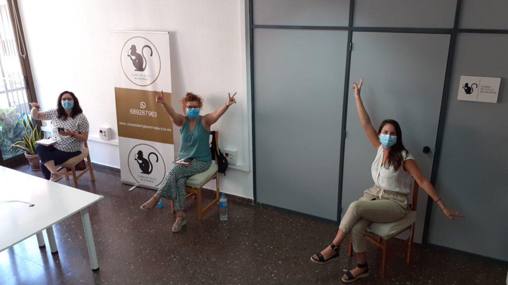 curso intensivo de inglés en Valencia - coronavirus