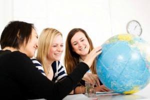 aprender inglés en valencia - bola mundo