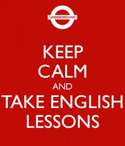 curso intensivo de inglés para adultos en Valencia - cartel metro