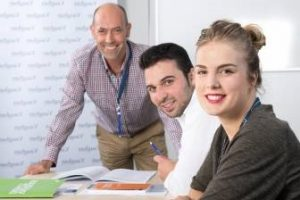 Aprender inglés - estudiantes