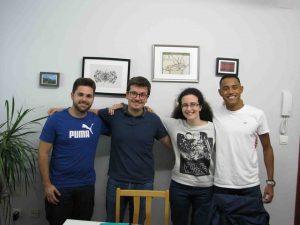 academias inglés en Valencia - compañeros