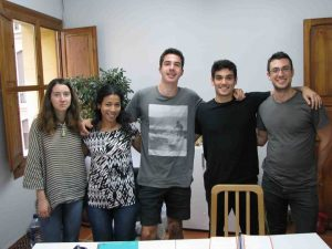 conversación de clases de francés en Valencia - compañeros