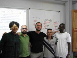 clases de conversación en francés en Valencia - compañeros