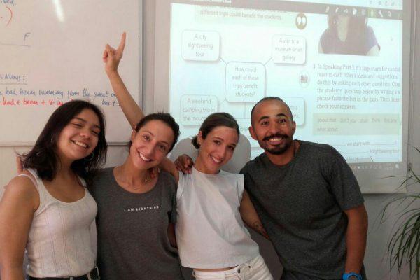 escuela de inglés en Valencia - alumnos